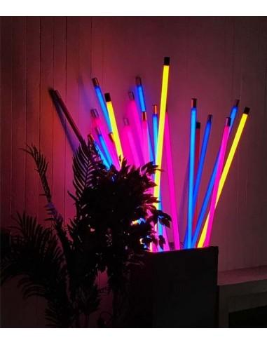 Lot de 6 néons 36w 120 cm lumière noire