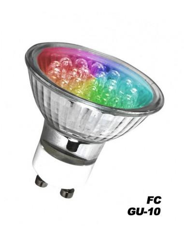 Ampoule LED GU-10 RVB FC