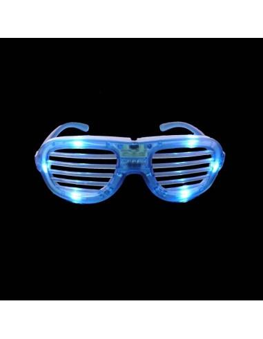 Lunettes Lumineuses HipHop - BLEUES - Barreaux - Kanye West