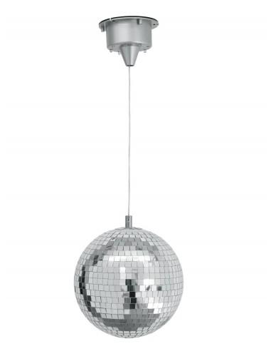 Boule à facettes 20 cm LED motorisée