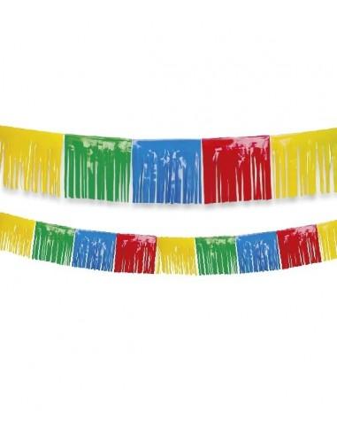 Guirlande Franges Multicolore 10m