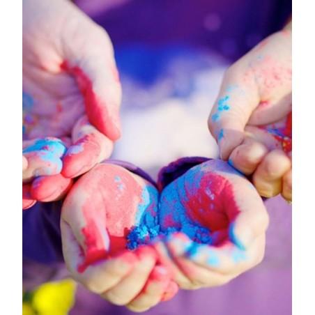 PACK 10 Sachets Poudre Colorée Holi 5 couleurs