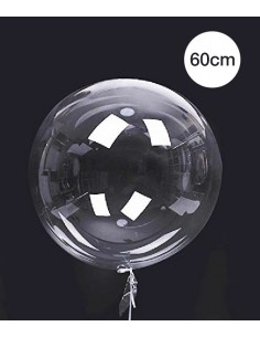 Ballon Bulle Deco Transparent 60cm