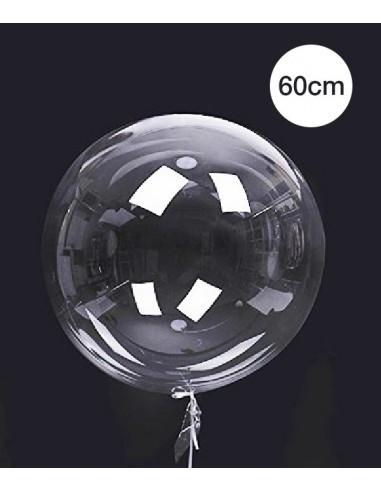 Ballon Bulle Deco Transparent 60cm