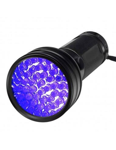 Lampe Torche UV de poche - 51 LEDs