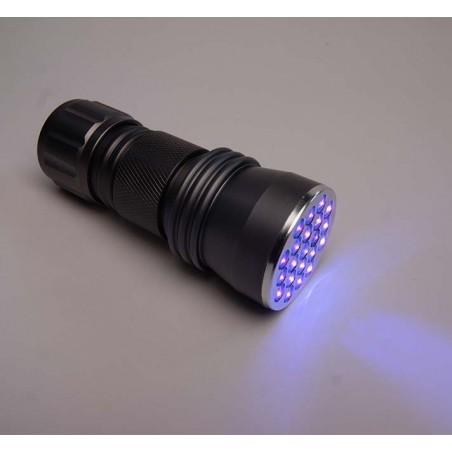 Quantum Lampe de Poche Poche Taille UV Lumière Noire