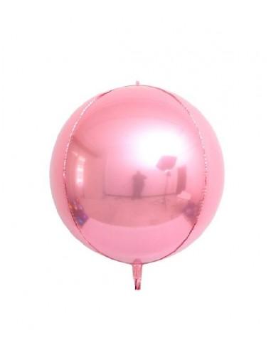 Ballon Rond Brillant 38cm Globe -...