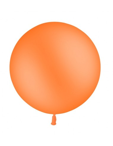 Ballon Rond Latex 60cm ORANGE