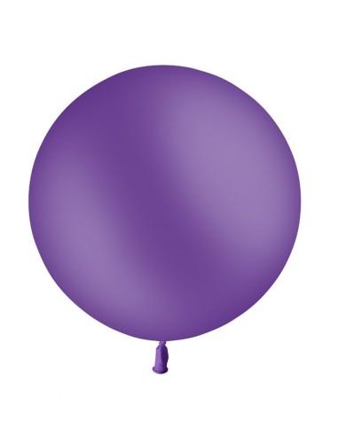 Ballon Rond Latex 60cm VIOLET
