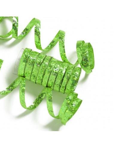 Serpentin Bolduc Holographique - Vert...