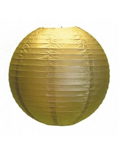 Lanterne Japonaise 35cm Or