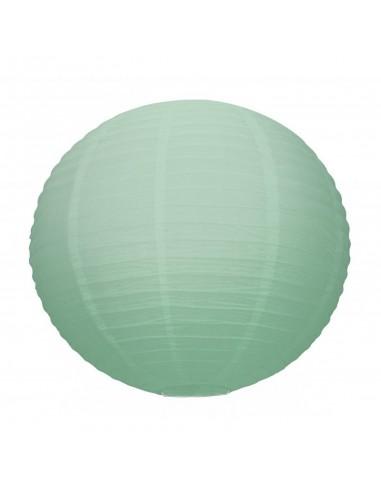 Lanterne Japonaise 50cm Vert menthe à...