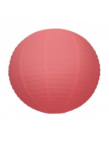 Lanterne Japonaise 50cm Rouge Corail