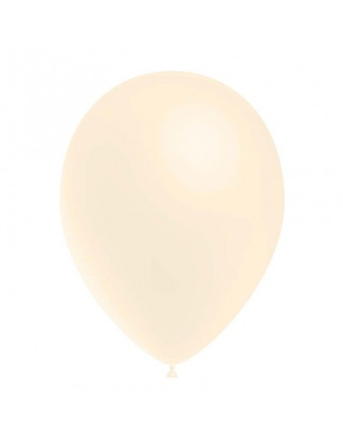 50 Ballons Latex  diam. 28cm Blanc...