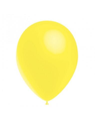 50 Ballons Latex  diam. 28cm Jaune...