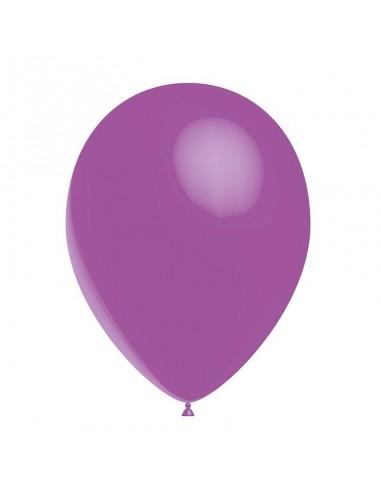 50 Ballons Latex  diam. 28cm Violet Lila