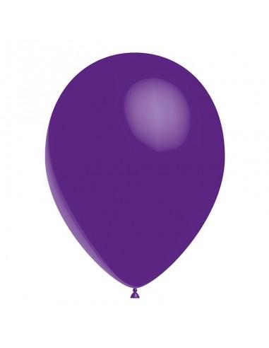50 Ballons Latex  diam. 28cm Violet