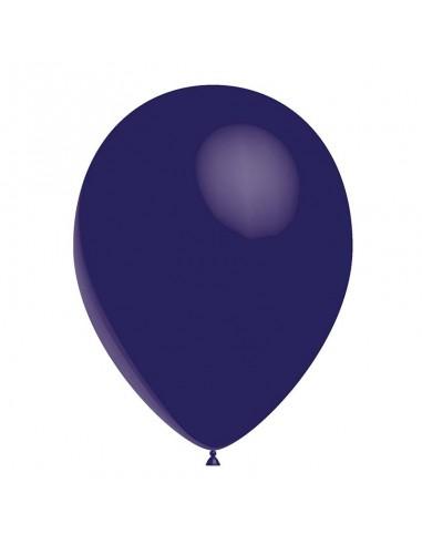 50 Ballons Latex  diam. 28cm Bleu Marine