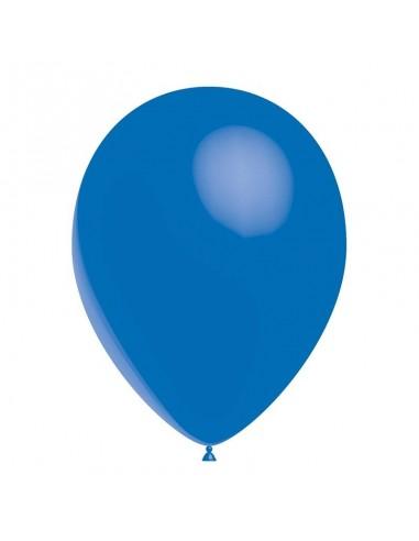 50 Ballons Latex  diam. 28cm Bleu Roi