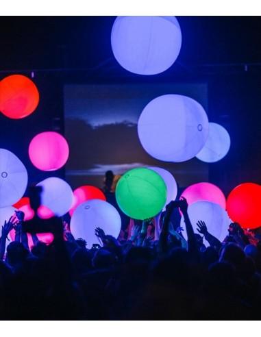 Ballon Géant Lumineux LED Multicolore...