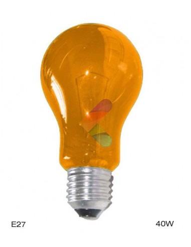 Ampoule Orange E27 40W A19