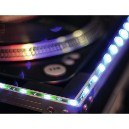 Bandeau ruban lumineux LED Strip RVB 150cm 12V - Décoration lumineuse facile à poser