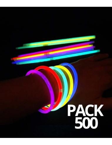 500 Bracelets Fluorescent Standard...