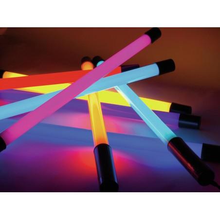 Tube Neon Coloré 70cm T8 18W  x6