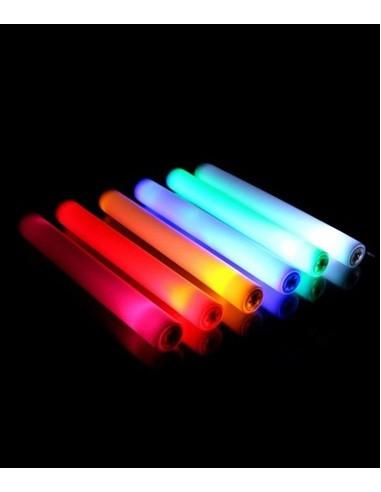 Baton Mousse Lumineux LED ROSE 47cm