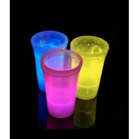 2 Shooters Lumineux Fluorescent PowerGlass™ 4 cl