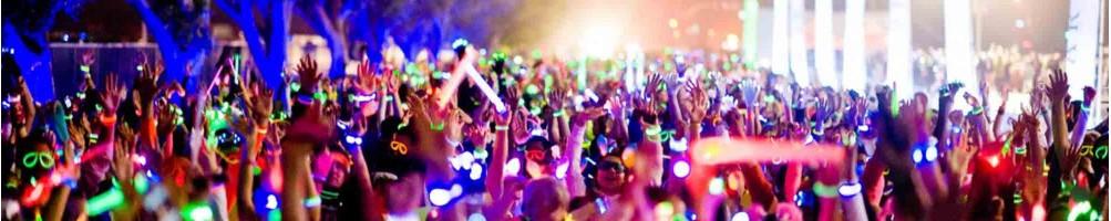 Accessoires soirées, concerts et festival | Prix de gros