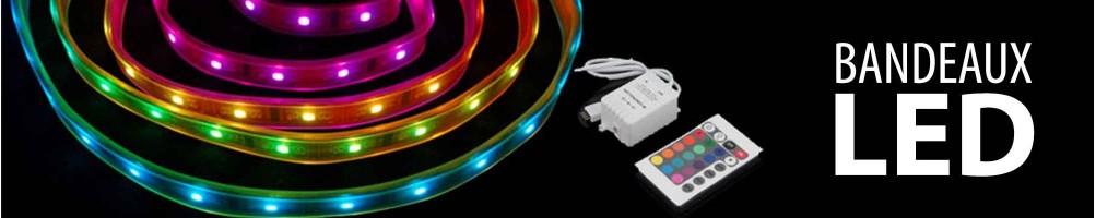 Rubans lumineux LED et guirlandes lumineuses