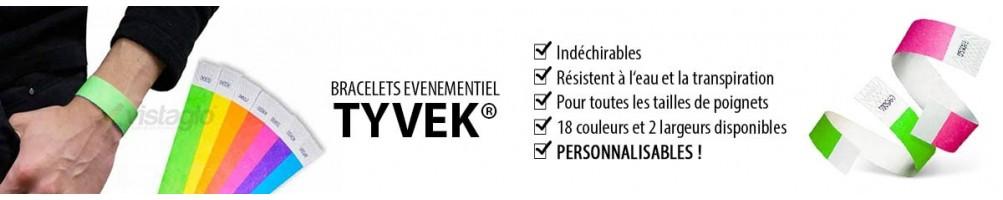 Bracelets identification & contrôle | Papier Tyvek ® | Evènementiel