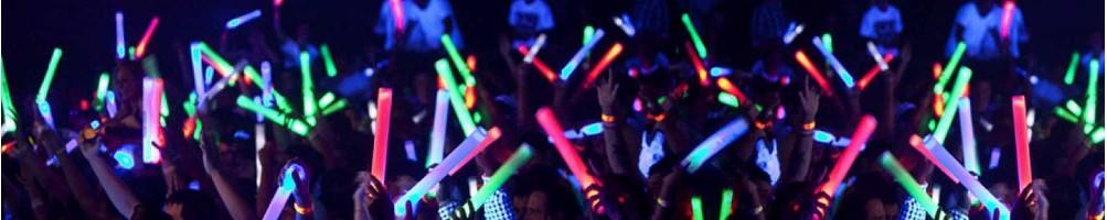 Batons Lumineux LED | Soirées, festivals et évènements
