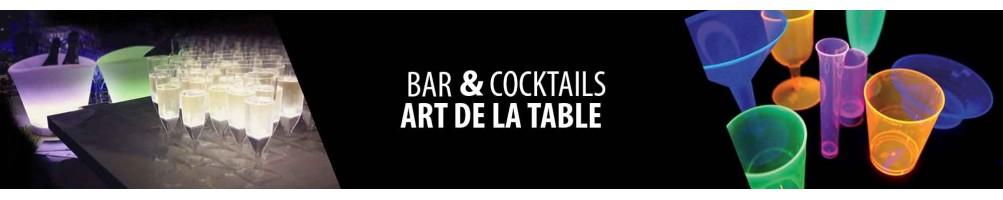 Accessoires lumineux pour le bar et discothèque