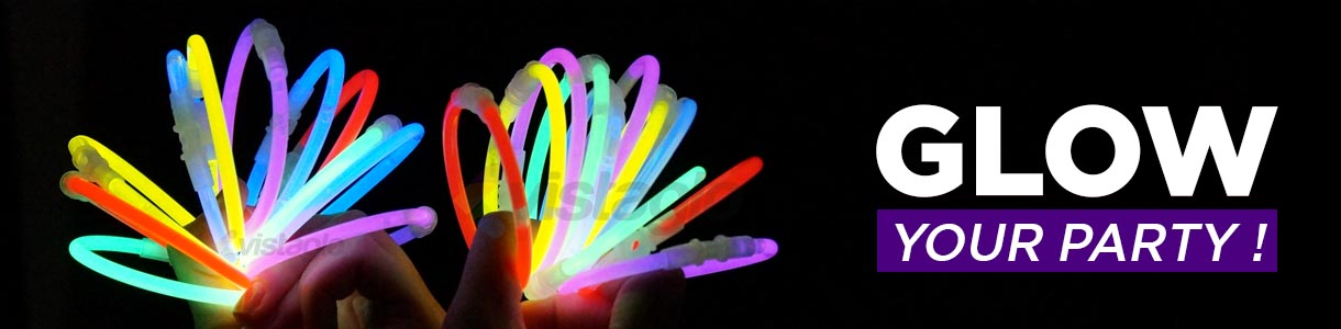 Glow bracelets for your event or party